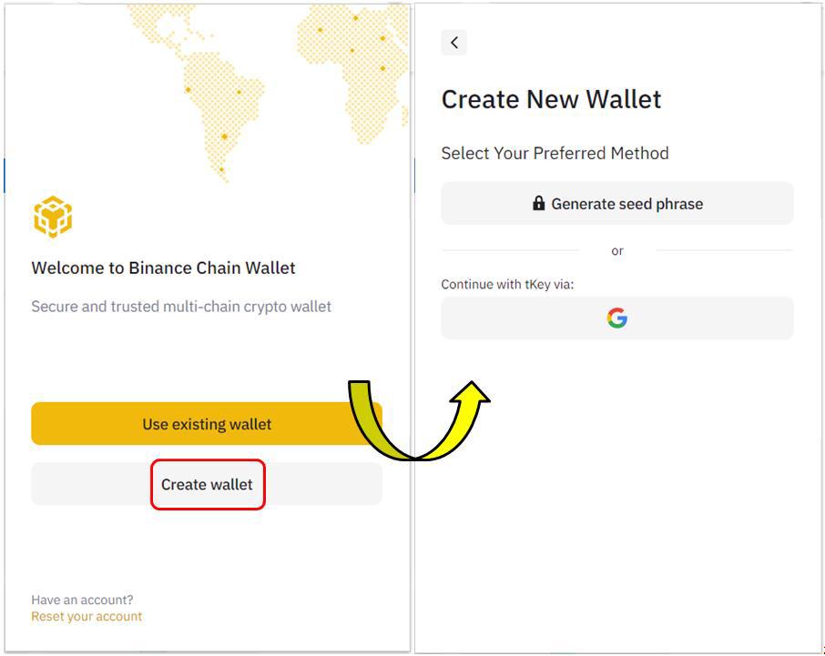 آموزش تصویری نصب و استفاده از «کیف پول بایننسچین»