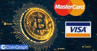 ارزش بازار بیتکوین از مجموع Visa و Mastercard پیشی گرفت!